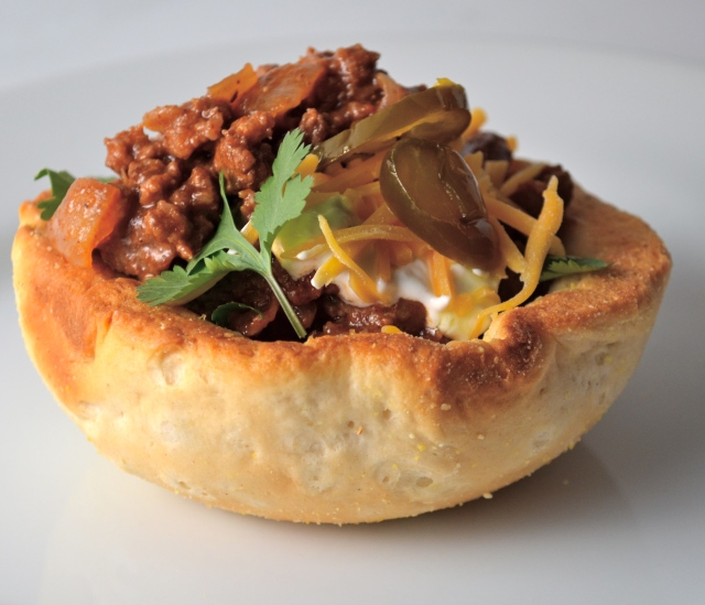 Biscuit Bowl Chili