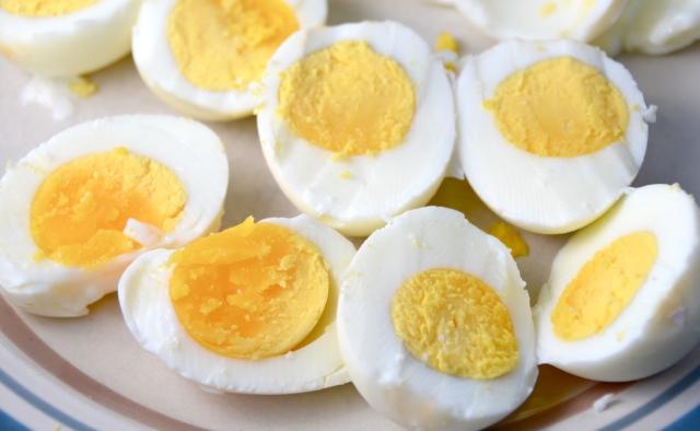 """Baked """"Hard-Boiled"""" Eggs"""