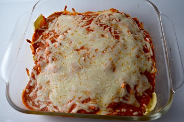 30 Minute Baked Ravioli