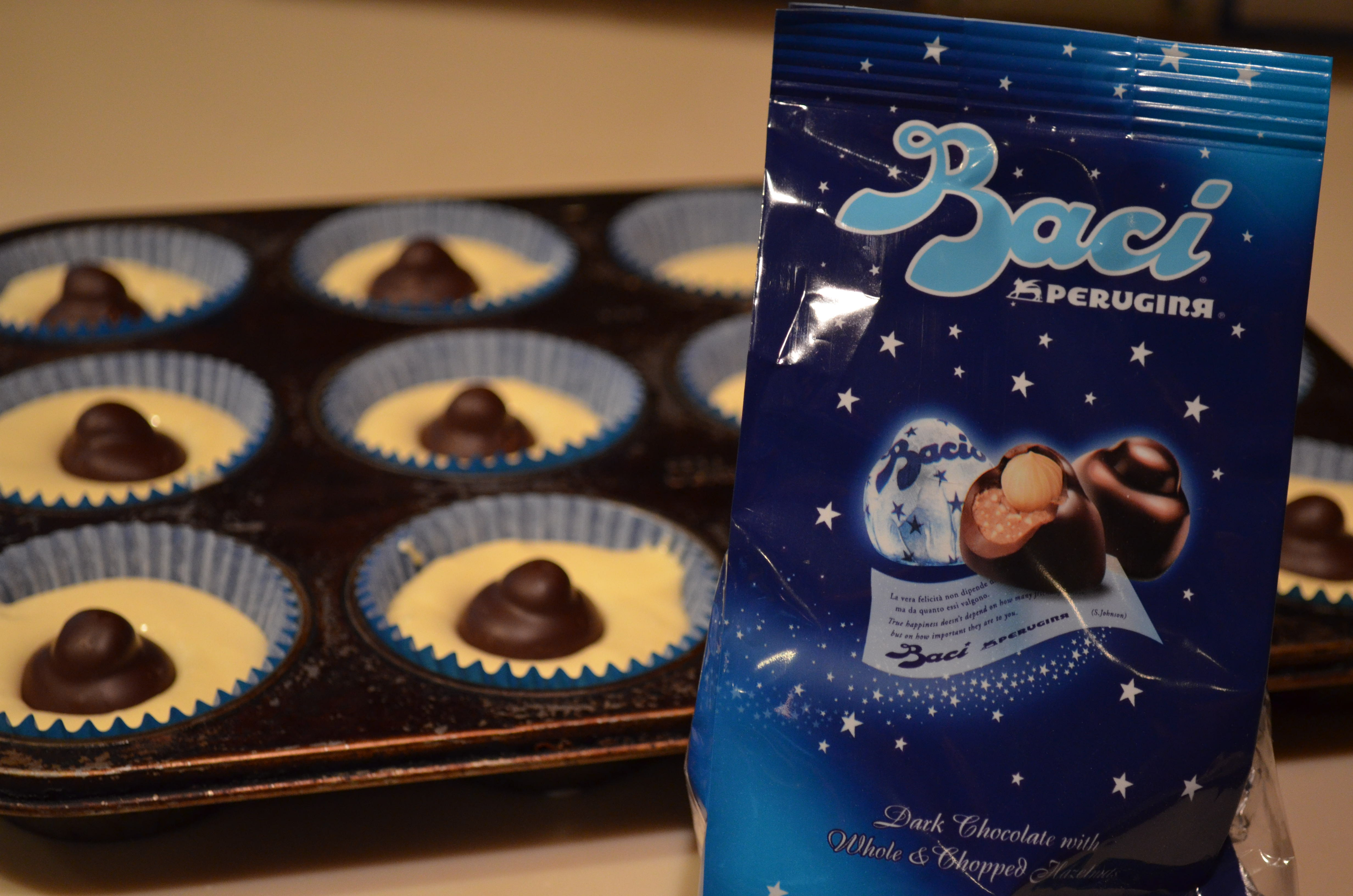 Short And Sweet. Baci Chocolate Stuffed Cupcakes. | I Sing In The ...