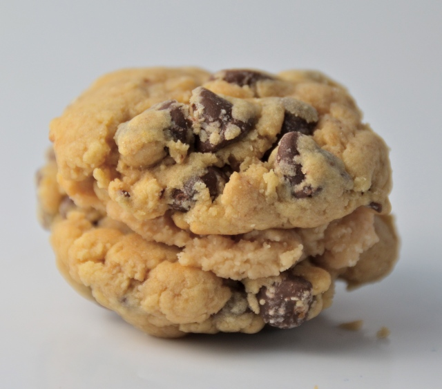 Caramel-Chocolate Chip Sandwich Cookie