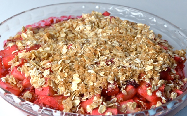 Rosy Apple Crisp