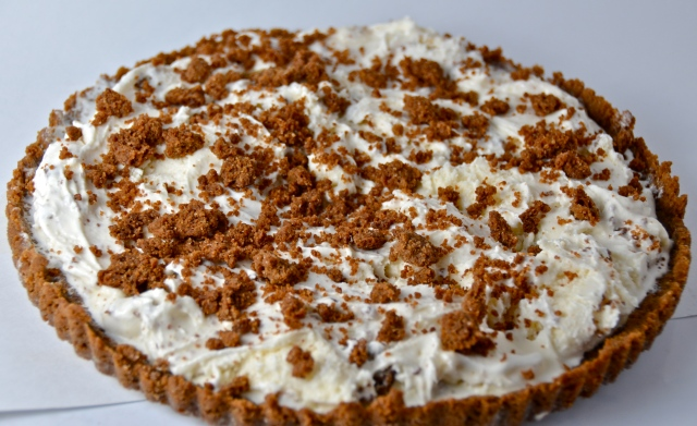 Gingersnap Crumble Ice Cream Tart