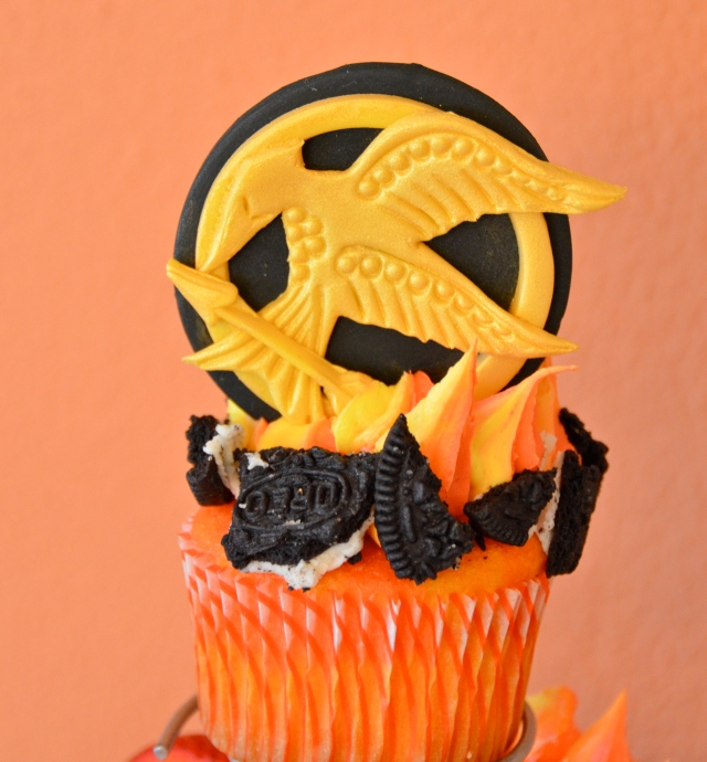 Cupcakes On Fire
