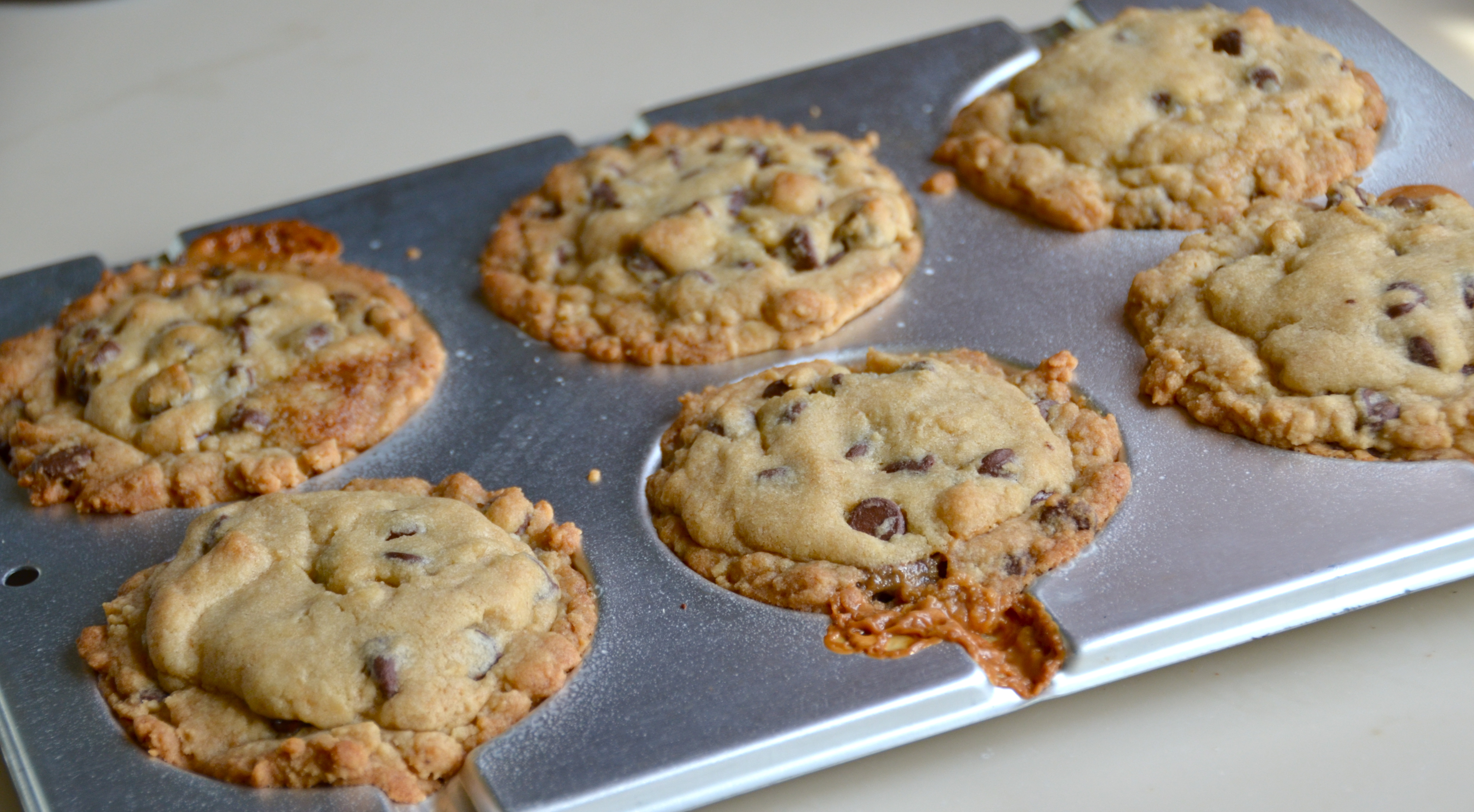 Monster Deep Dish Chocolate Chip Caramel Cookies. New Music From ICENI ...
