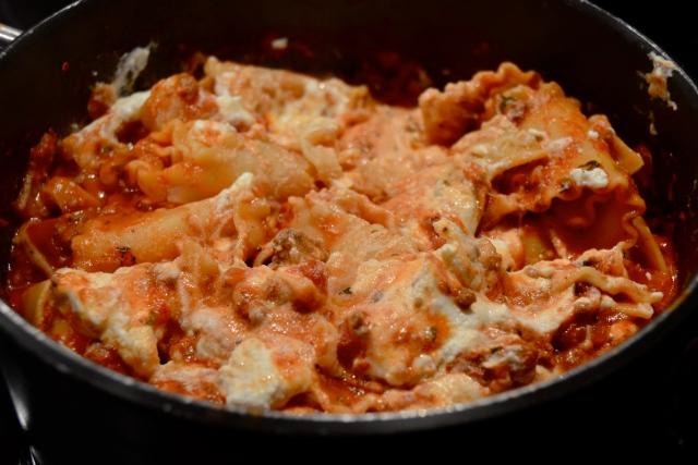30-Minute Stovetop Lasagna