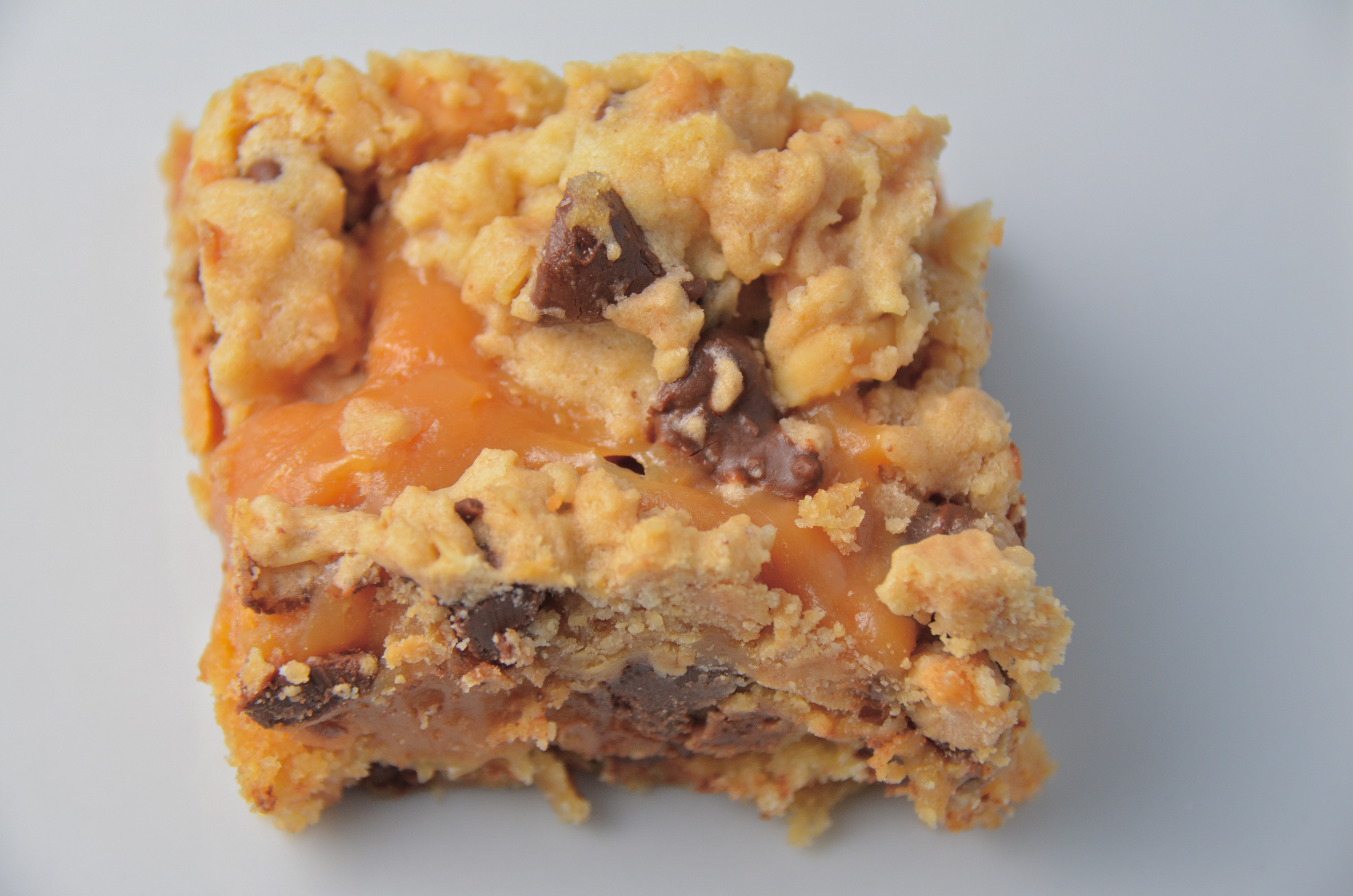Peanut Butter Caramel Toffee Chocolate Chip Cookie Bars. The Enemies ...