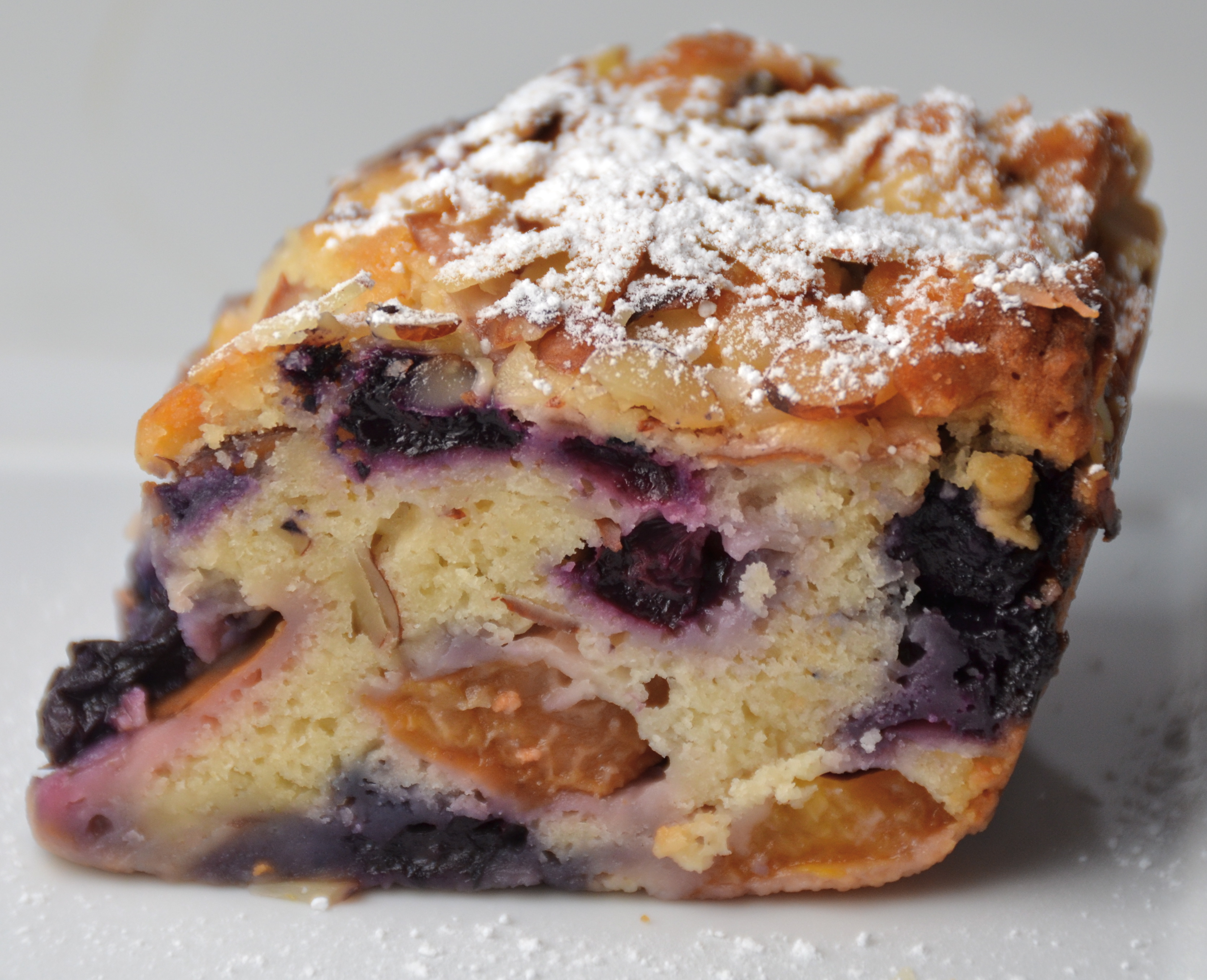 Peach and Blueberry Buckle. Taking A Paranoid Journey With ...