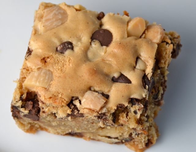 Marcona Almond And Chocolate Chip Blondies New Music From