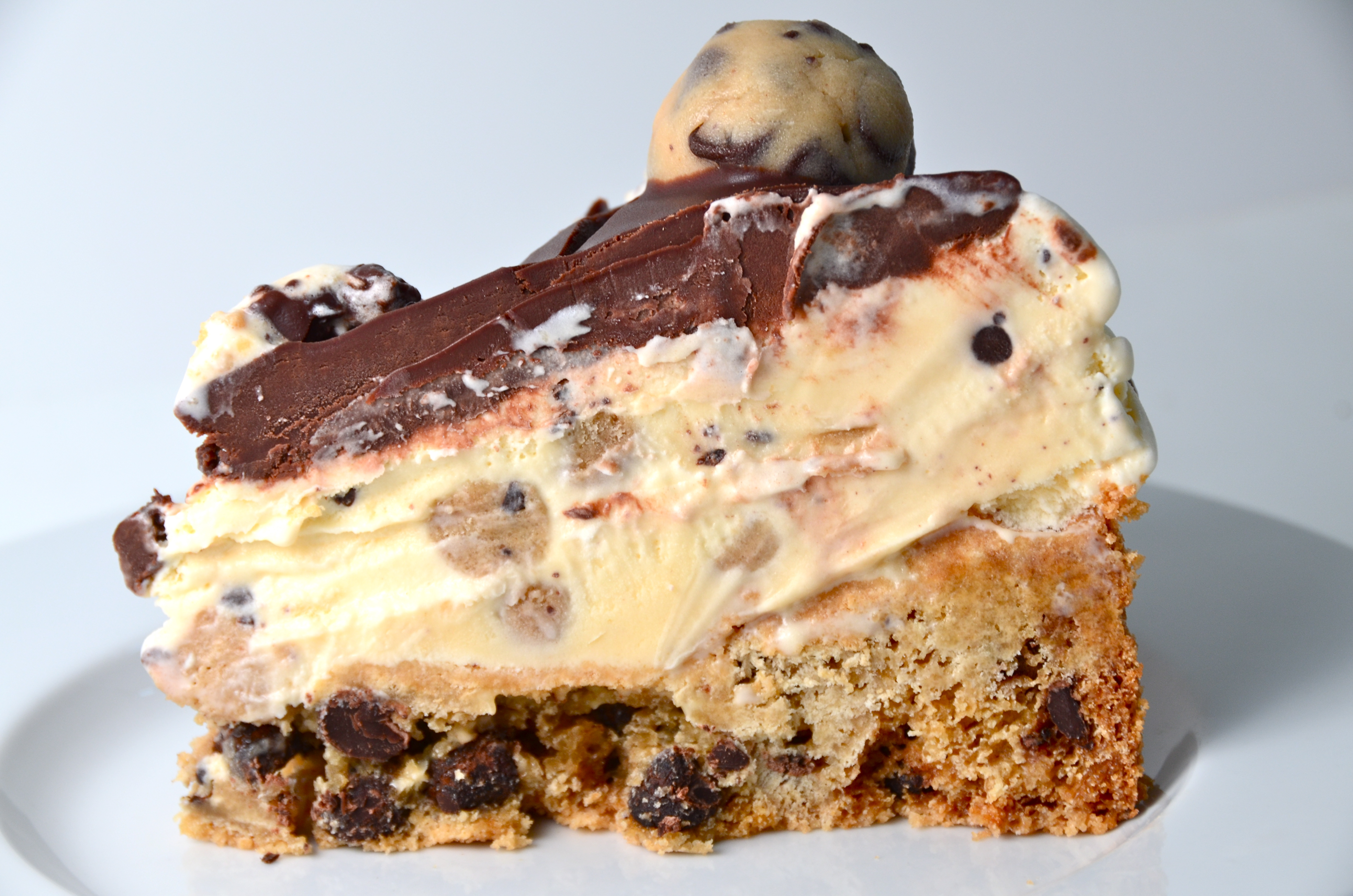 Chocolate Chip Cookie Dough Ice Cream Cake. Fabulous Summer Song From ...
