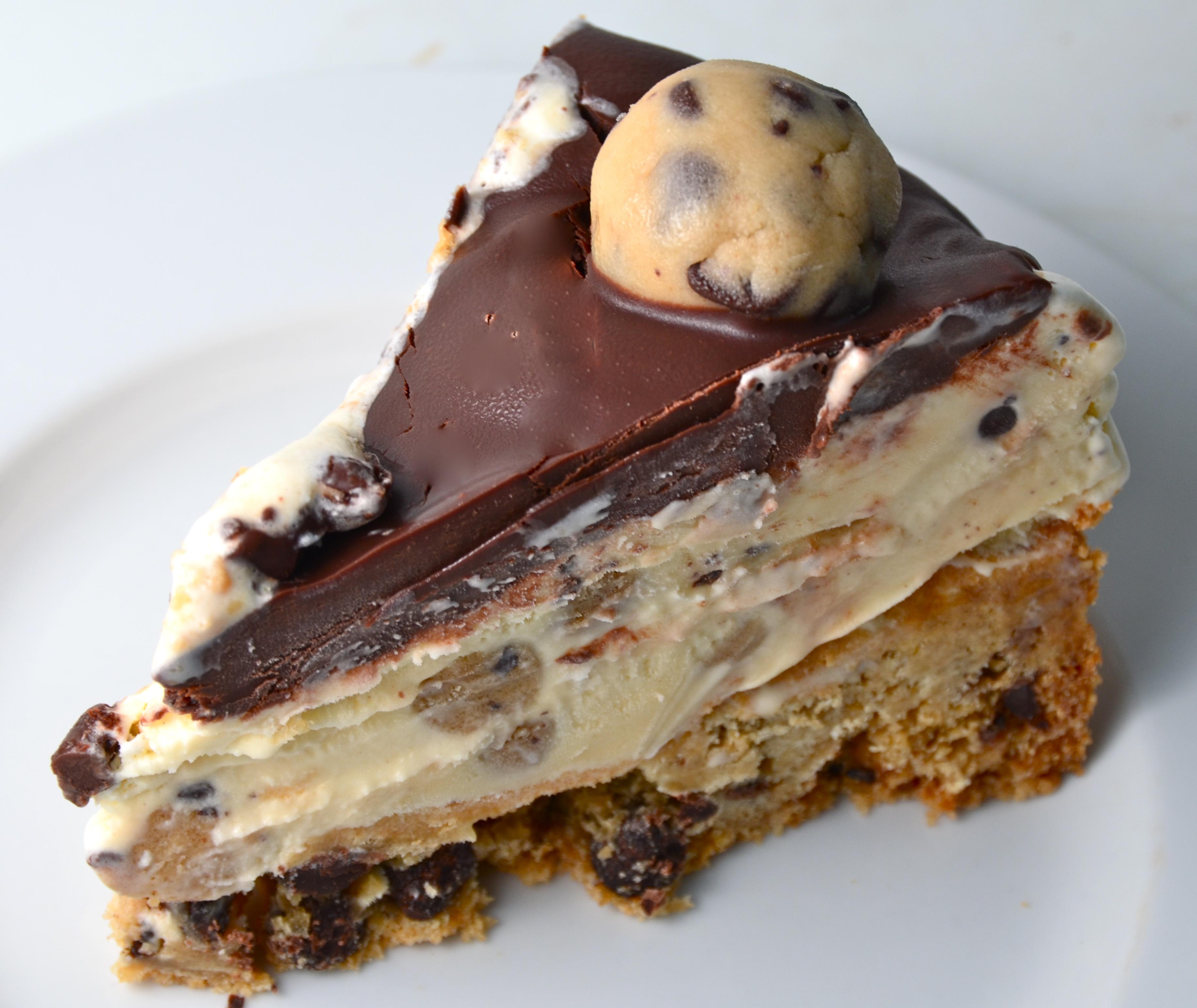 Chocolate Chip Cookie Dough Ice Cream Cake. Fabulous ...