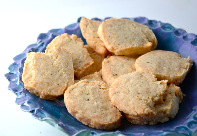 Parmesan And Thyme Crackers