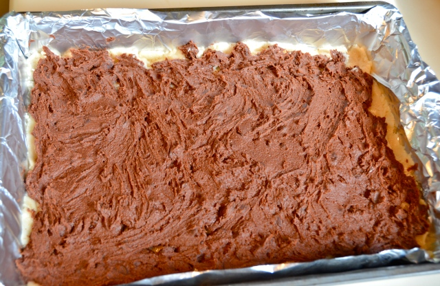 Double Chocolate Chip Cookie Layer