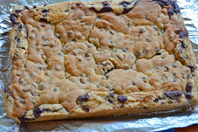Chocolate Chip Cookie Layer