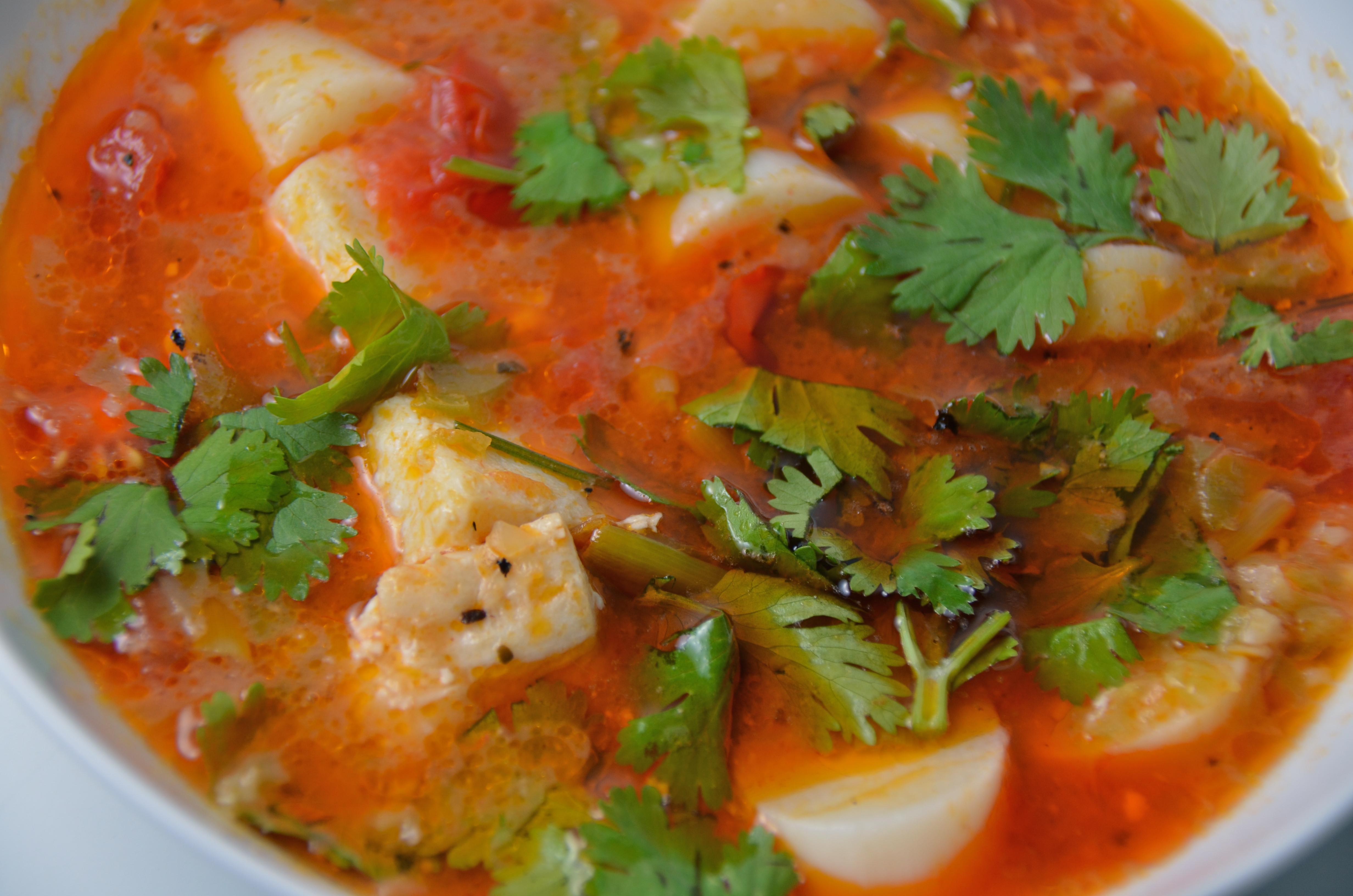 Brazilian Fish Stew (Moqueca de Peixe) | I Sing In The Kitchen