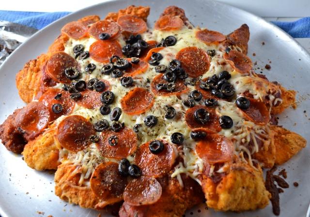 Fried Chicken Pizza Crust