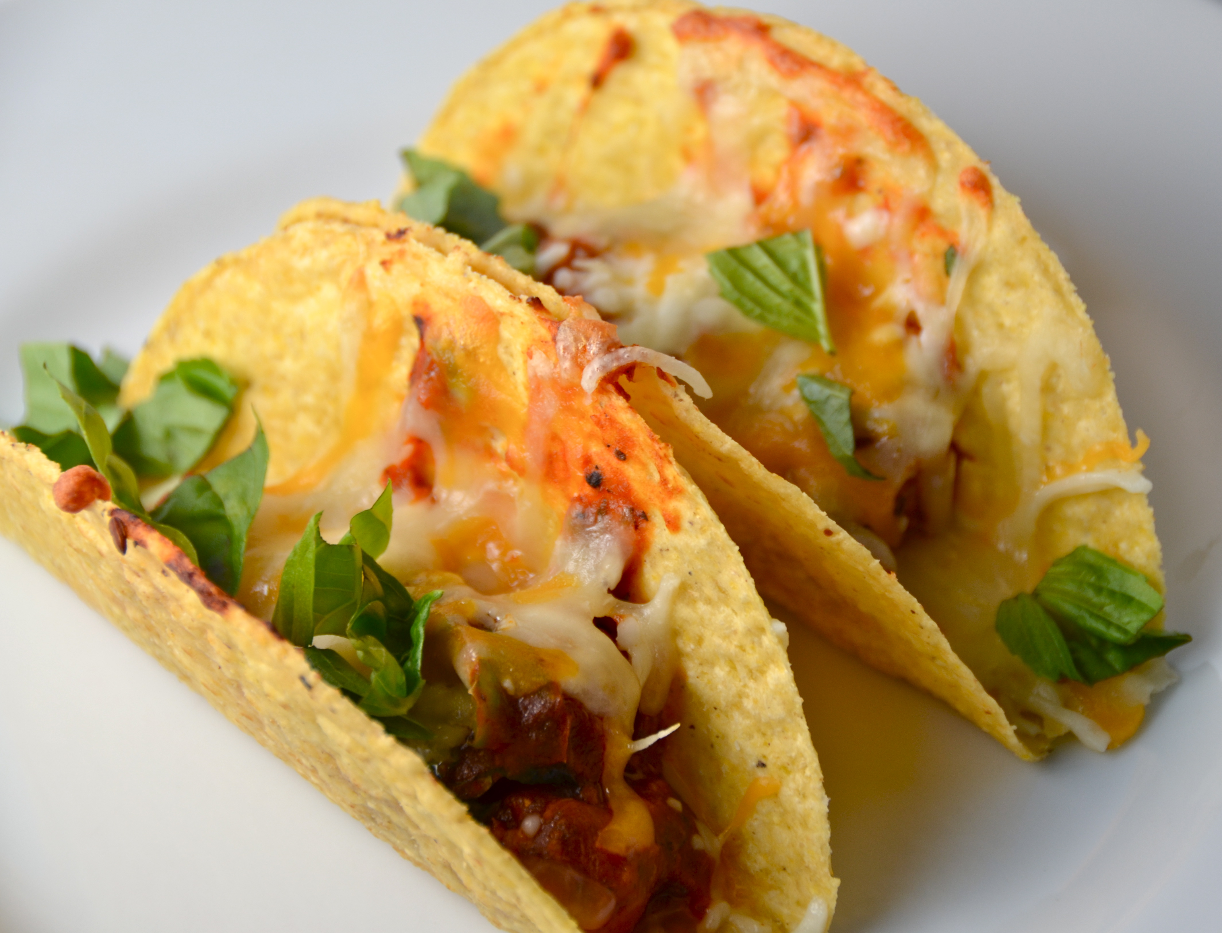 Baked Sausage Pizza Tacos I Sing In The Kitchen