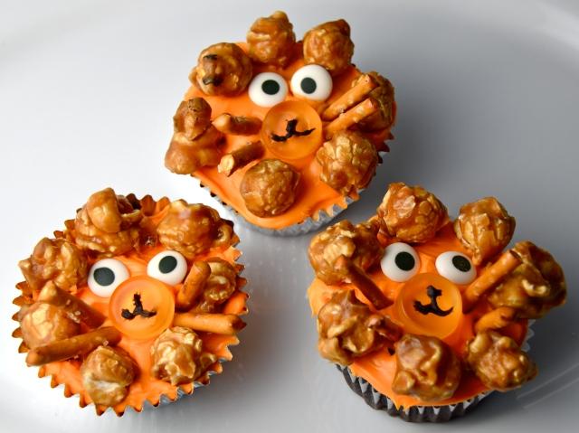 Lion Cupcakes