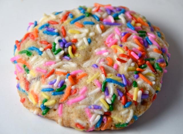 Chocolate Chip Sprinkle Cookies