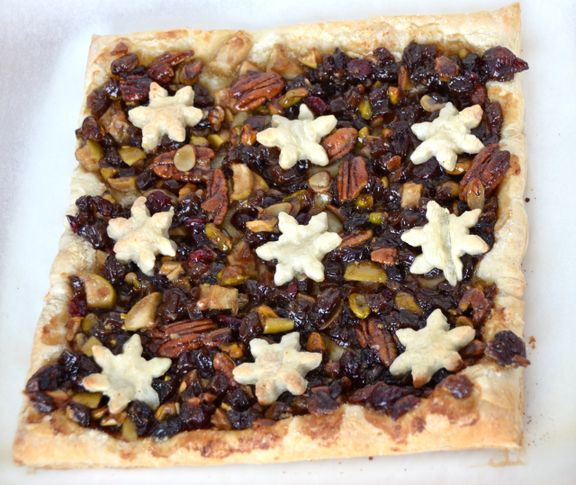 Chunky Mince Pie Slices