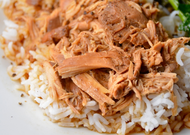 Slow Cooker Ginger Lime Chicken