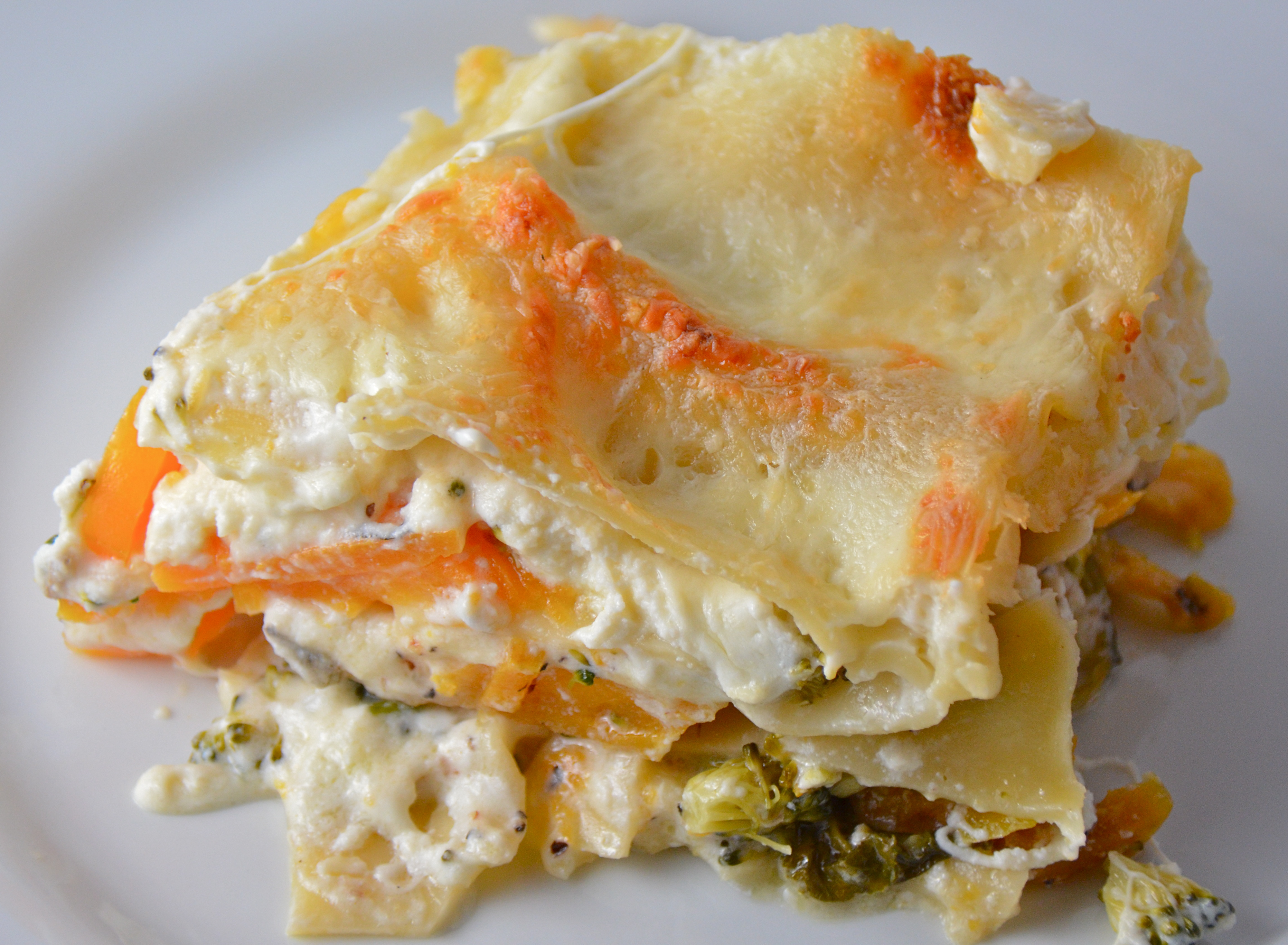 Squash And Broccoli Rabe Lasagna   I Sing In The Kitchen