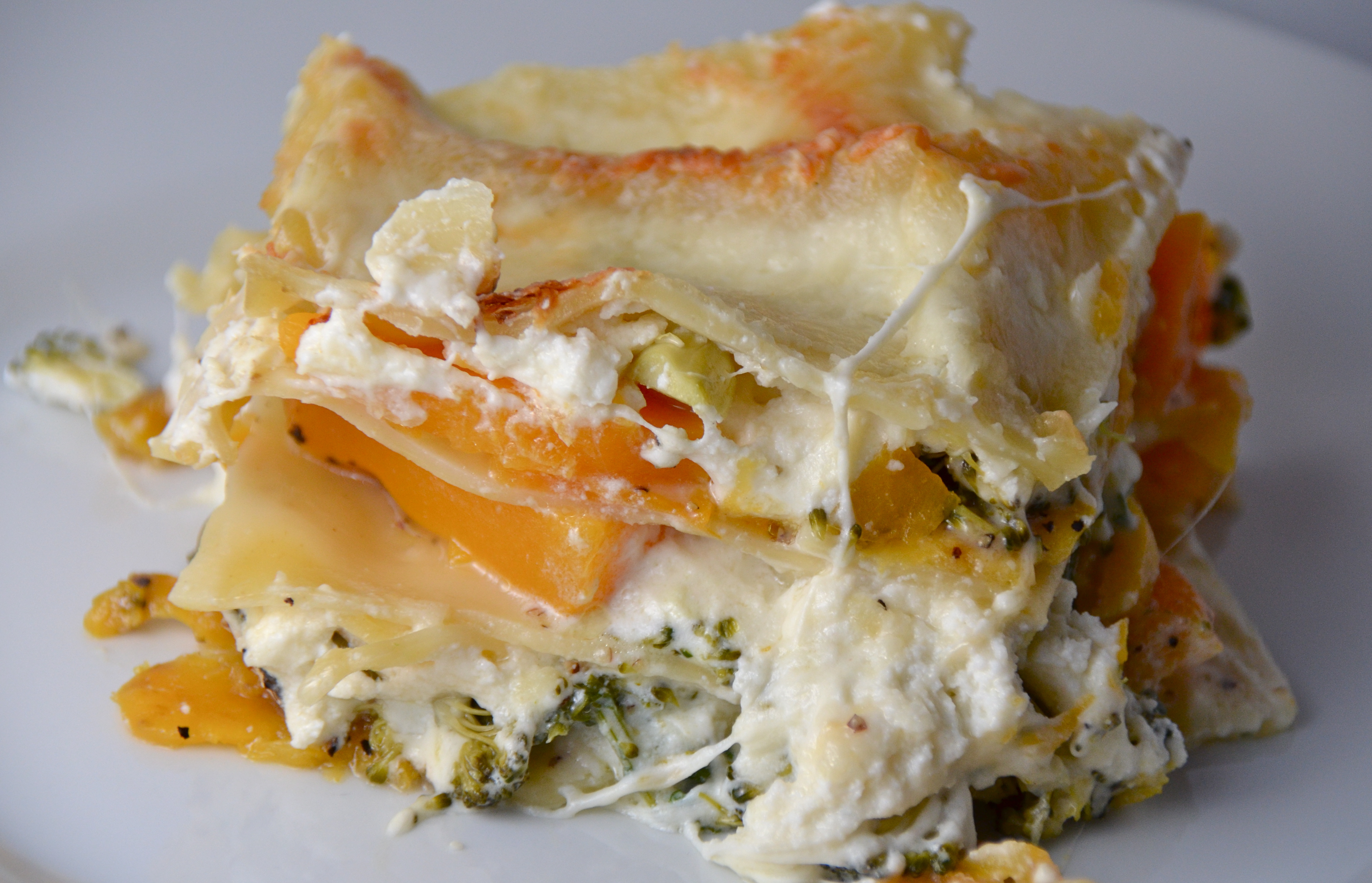 Squash And Broccoli Rabe Lasagna | I Sing In The Kitchen
