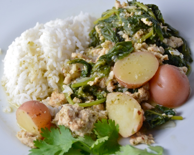 Kale-Turkey Rice Bowl
