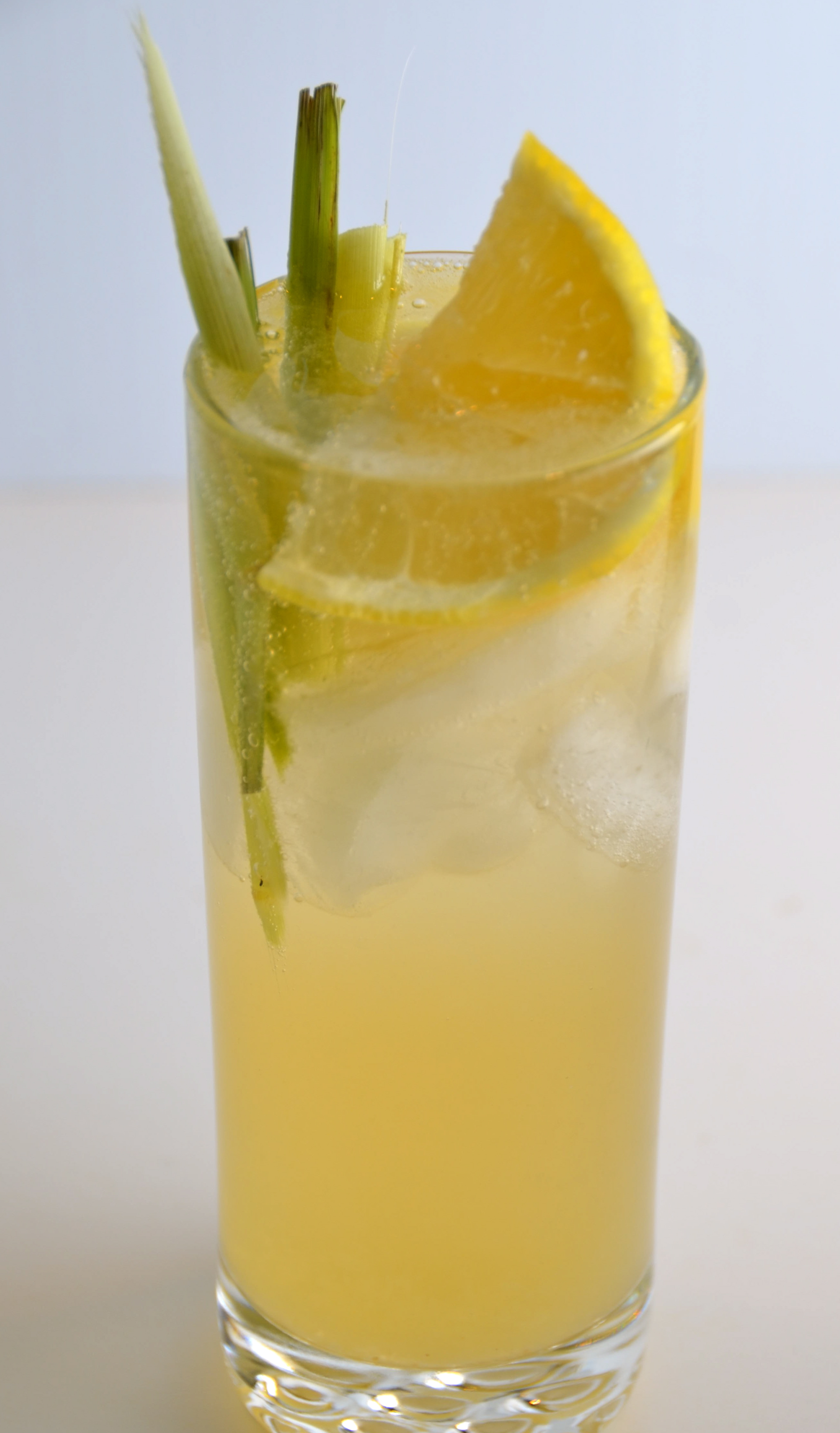 Bombay Sapphire East Lemongrass Collins I Sing In The
