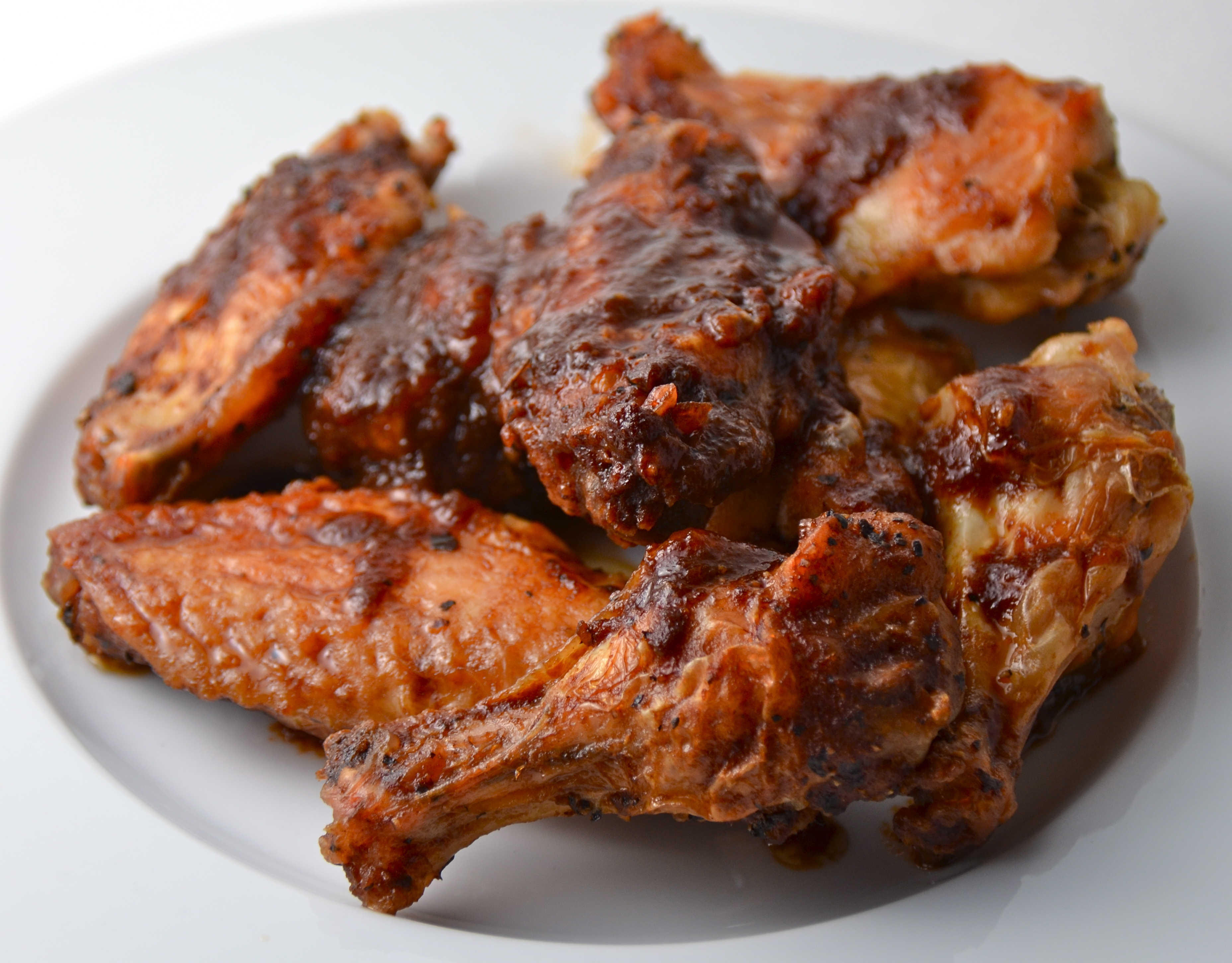 Balsamic Soy-Glazed Chicken Wings. New Music From The Tulips. | I Sing ...