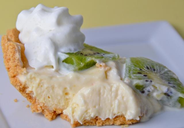 Kiwi-Lemon Cheesecake