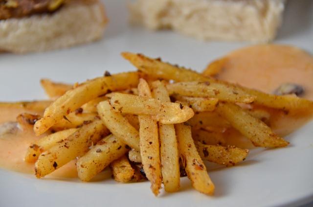 Jerk Spiced Fries