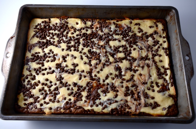 Marbled Cheesecake And Kahlúa Brownies
