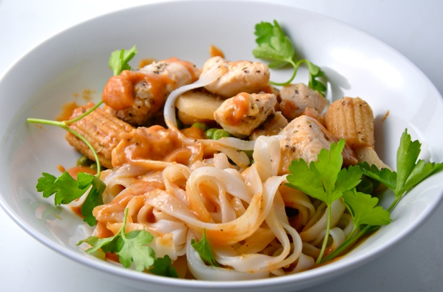 Spicy Asian Noodle Bowls
