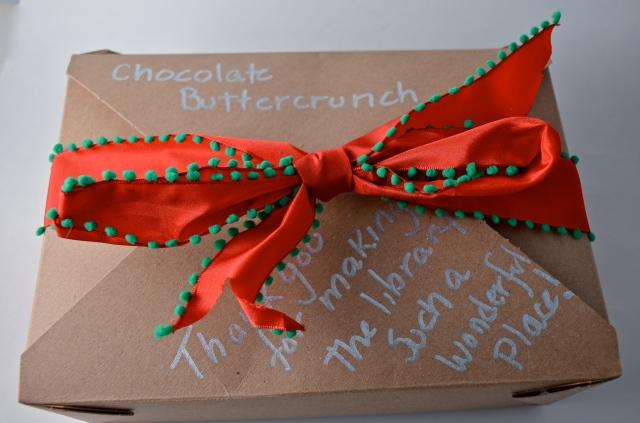 Dark Chocolate Buttercrunch