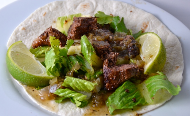 Beef And Avocado Fajitas