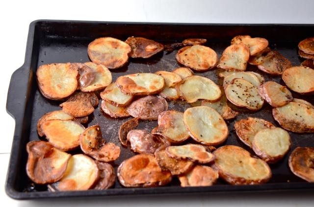 Potatoes roasted