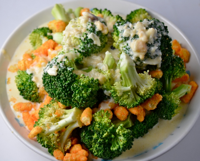 Broccoli With Cheetos