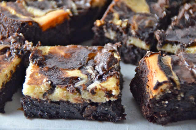 Marbled Chocolate Chip Brownies