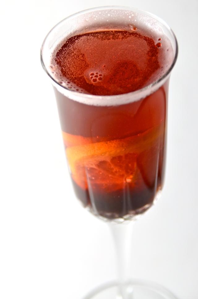 Sparkling Port Cocktail
