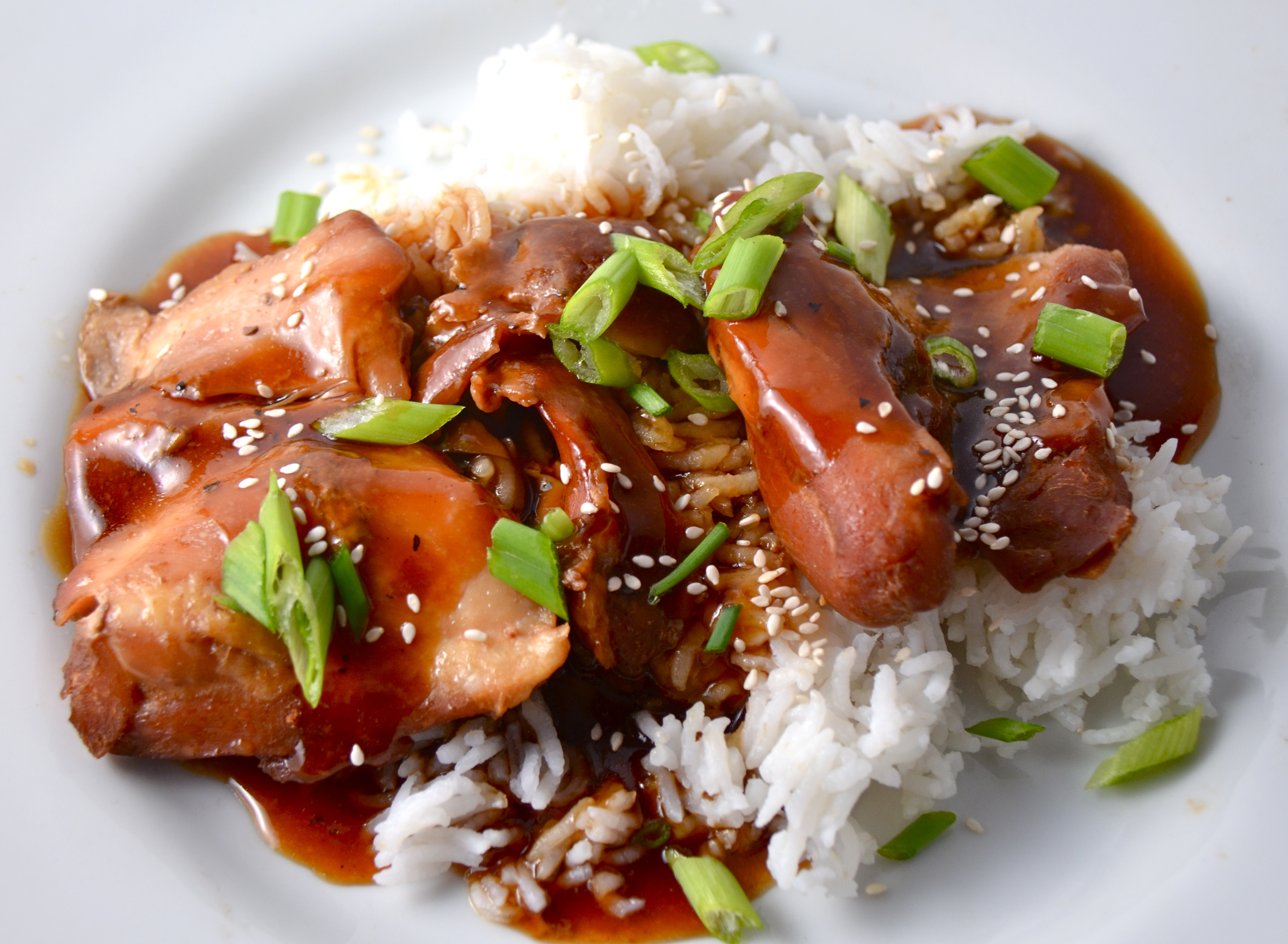 Slow Cooker Teriyaki Chicken. Beginning The Week With Huck ...