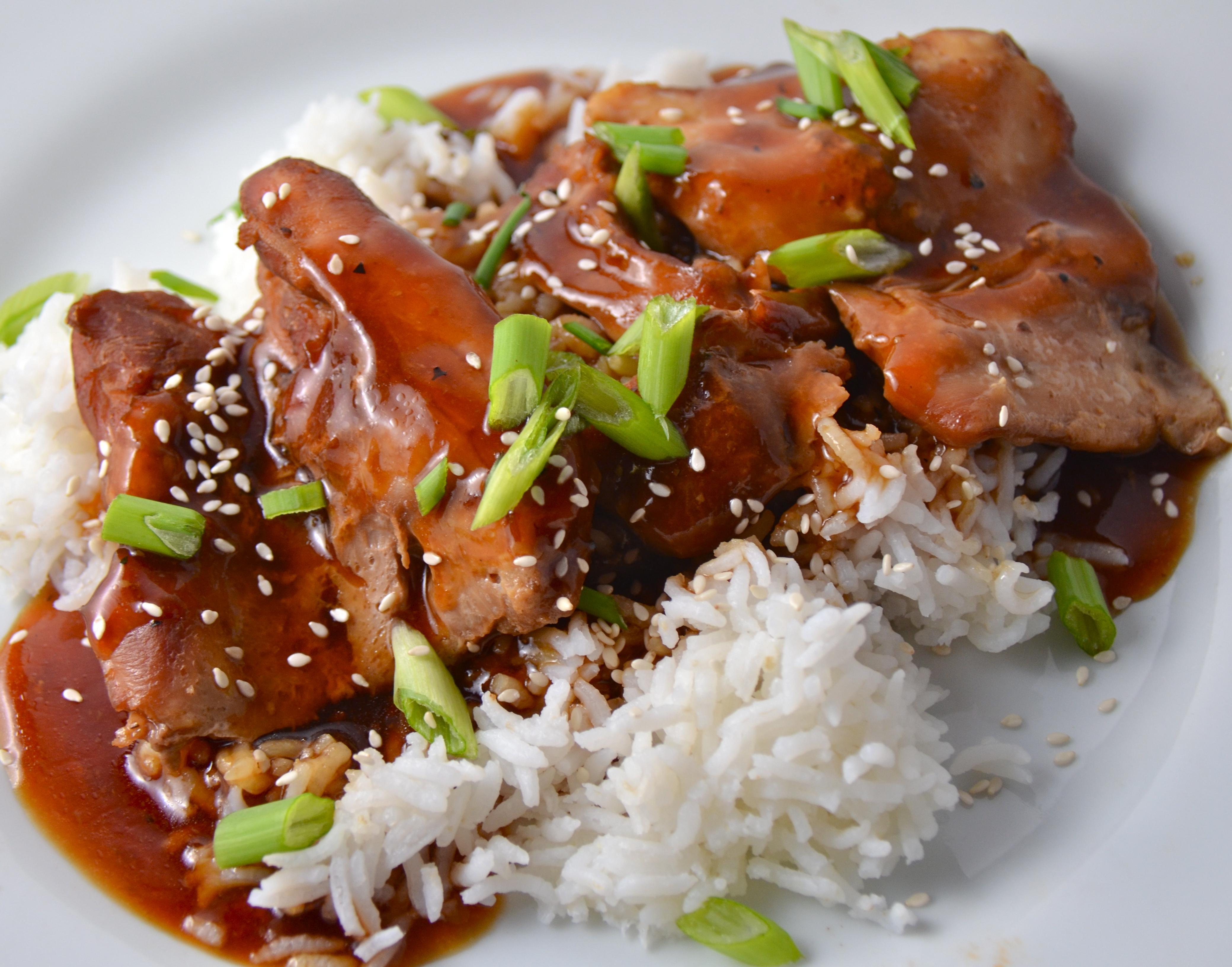 Slow Cooker Chicken Teriyaki 3b45709154db0a9ba917312461fc08cf01f8dd76b95279774b83f97692ebcae6