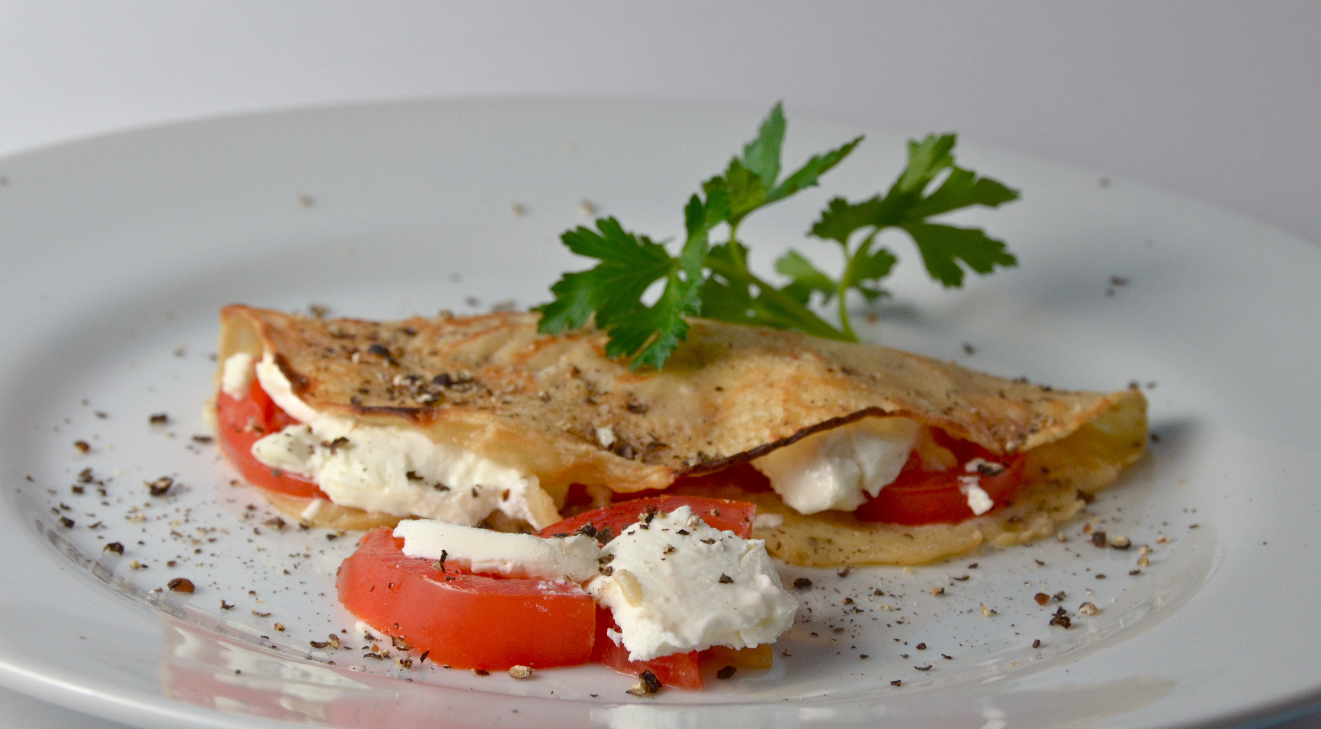 ... and creamy cheese it s a simple light elegant and satisfying dish