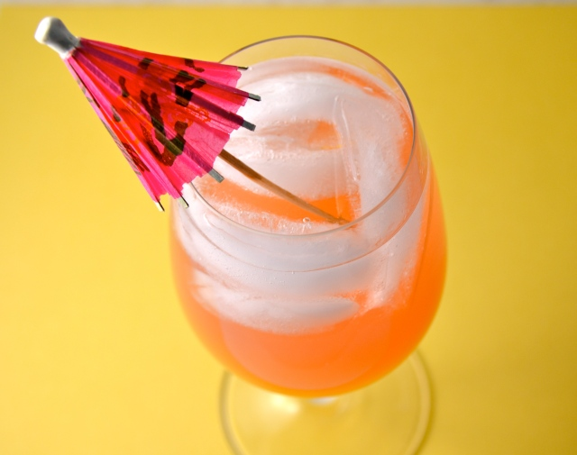 Coconut Water Rum Cocktail