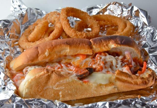 Baked Italian Sausage Sandwich