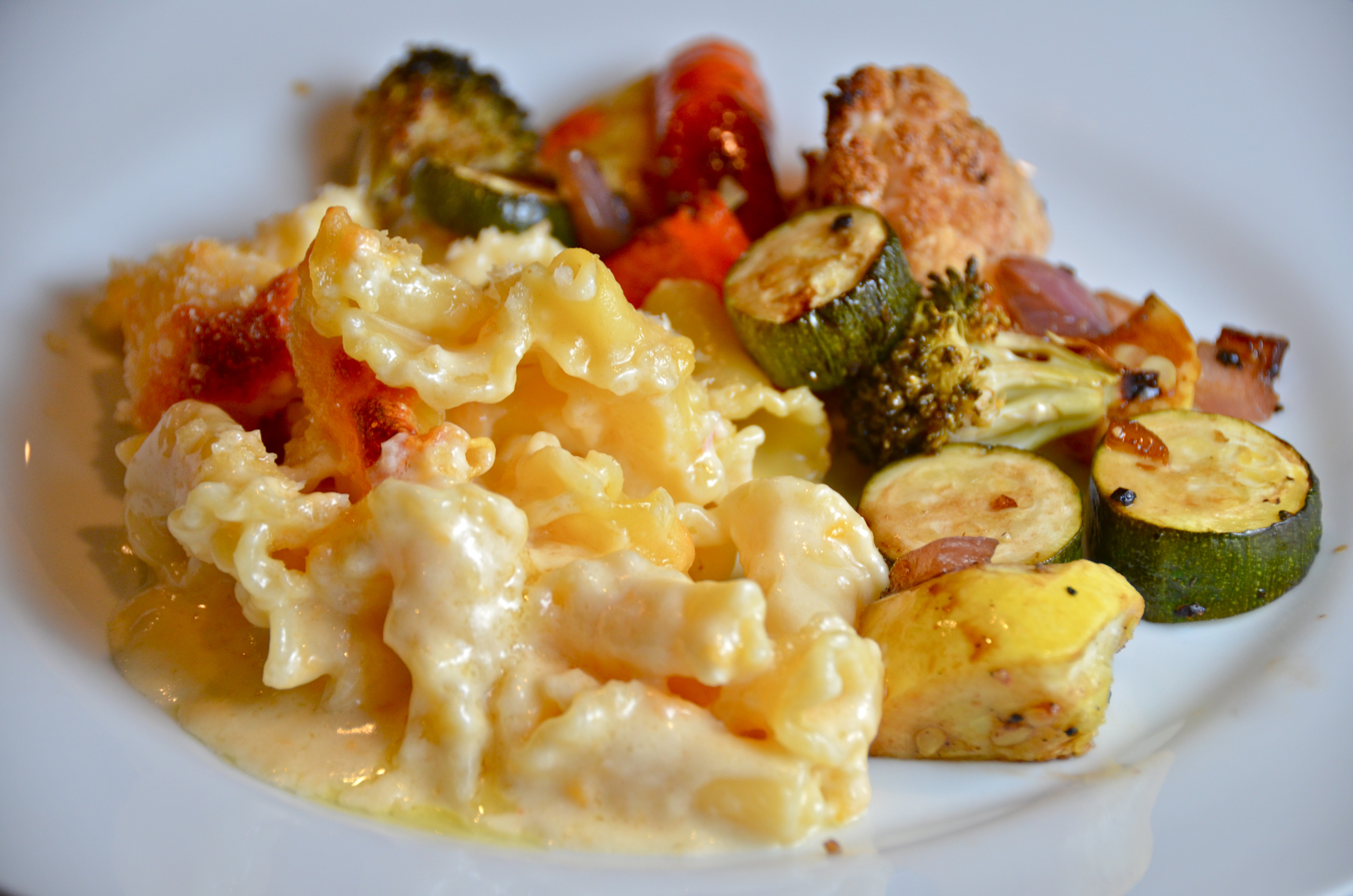 Lobster Mac N Cheese And Balsamic Roasted Vegetables New Music From Steve Van Tine