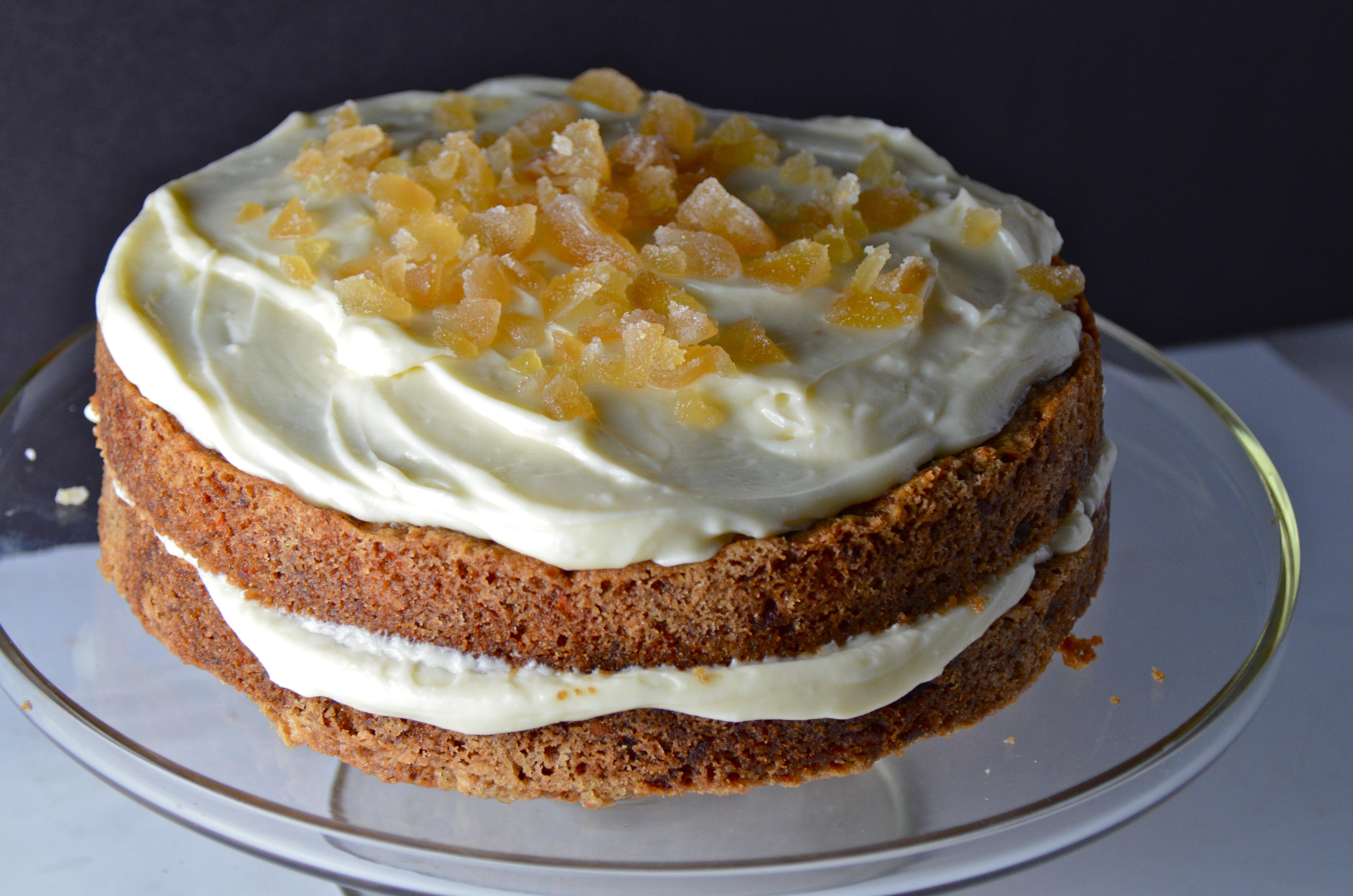 Ina Garten Carrot Cake With Ginger Mascarpone Frosting