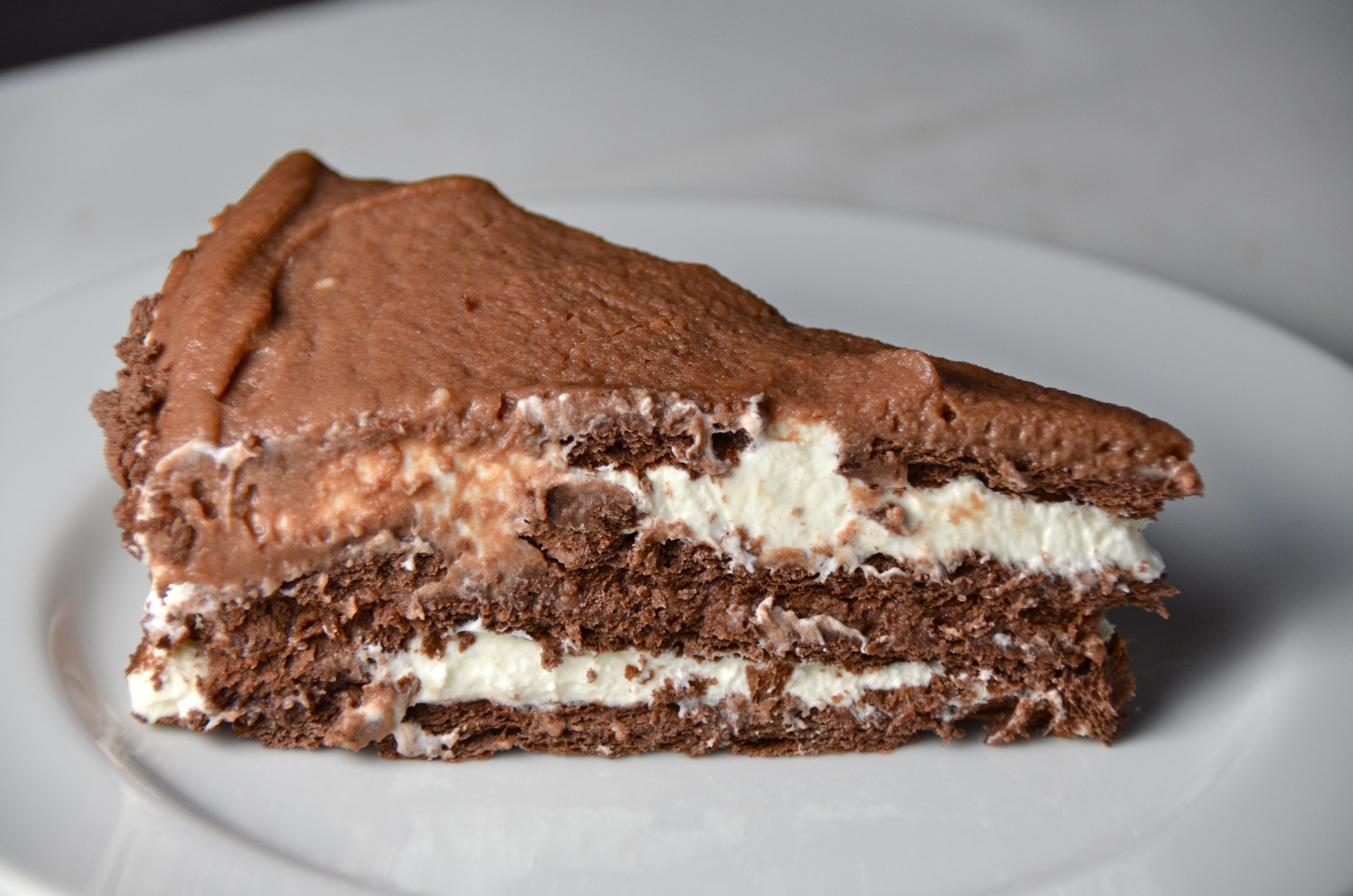 Chocolate-Hazelnut Icebox Cake. Listening To The Jackals. | I Sing ...