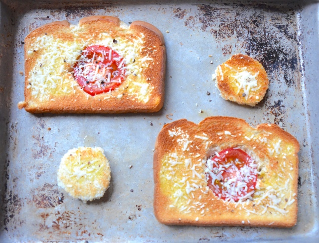 Red Toad In The Hole