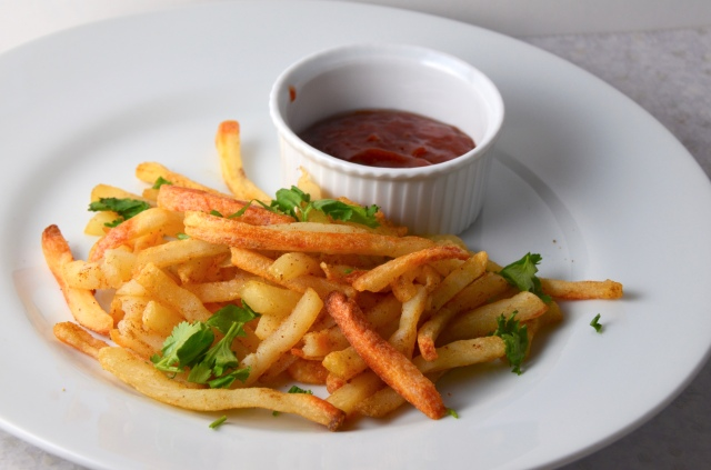 Moroccan Fries With Cumin Ketchup